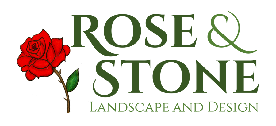Rose & Stone Landscapes Logo